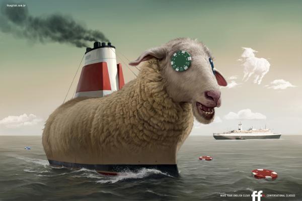 Ship – корабль, sheep – овца