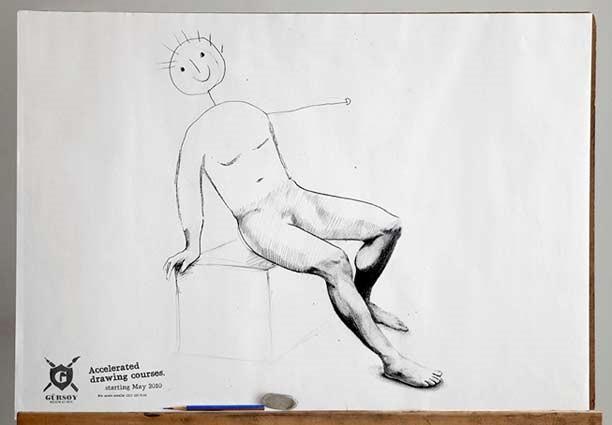 Реклама курсов рисования