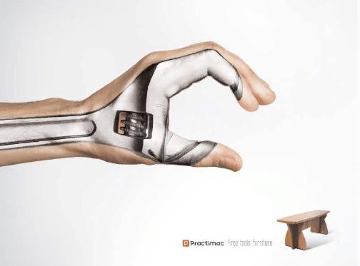 креативная реклама мебели